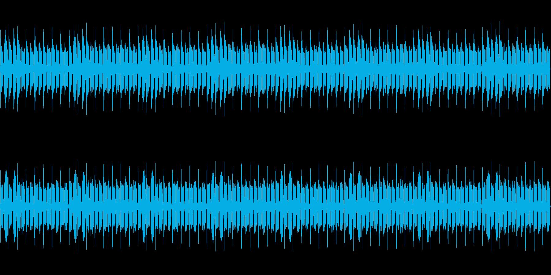 暗いレトロ風BGM【ループ】の再生済みの波形