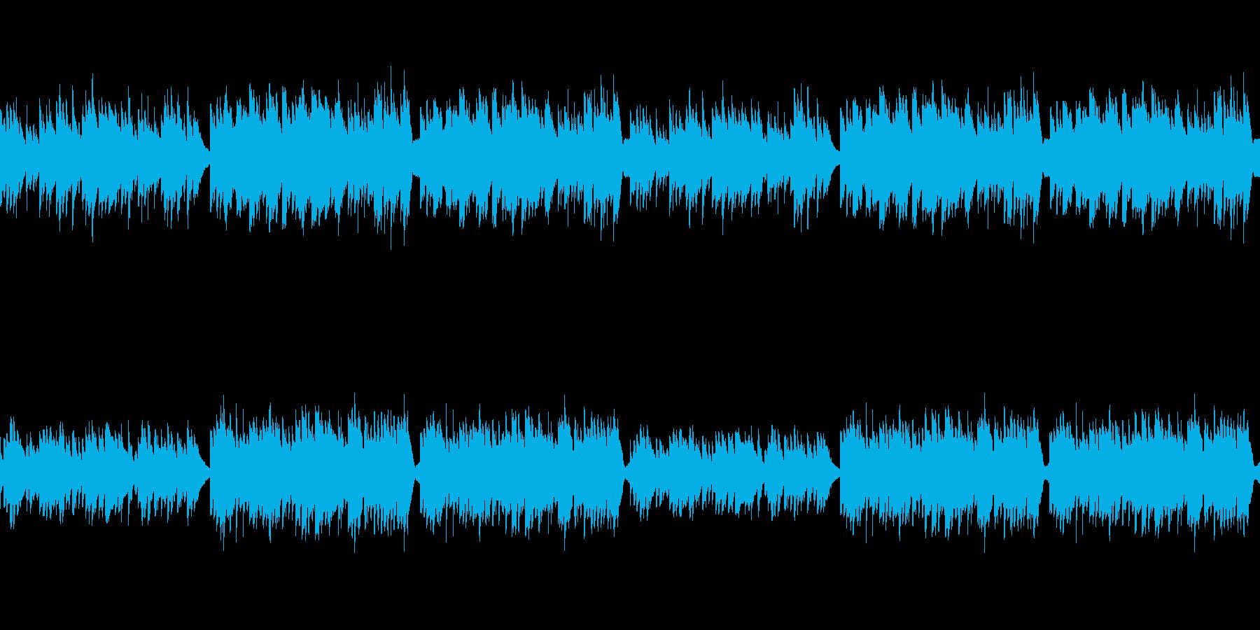 【ドラム抜き】のどかでしっとりした雰囲…の再生済みの波形