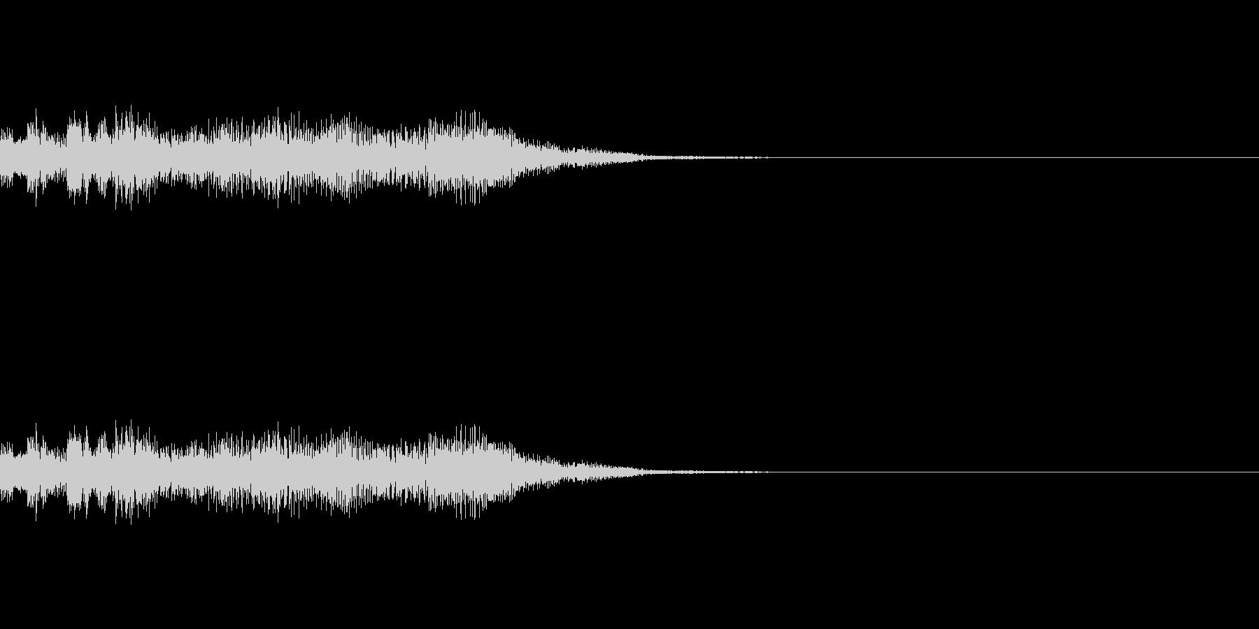 ブーン 起動音 の未再生の波形