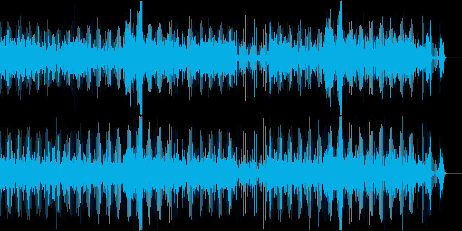 【メロディ・ドラム抜き】気分がハイになるの再生済みの波形