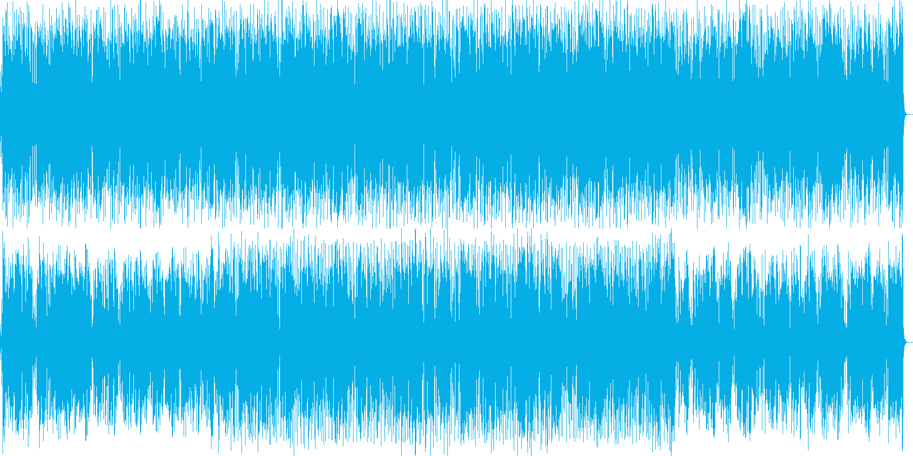 アダルトで都会的なサックスフュージョンの再生済みの波形