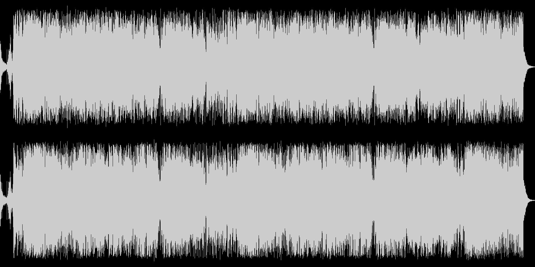 華やかエキサイティングなジャズBGMの未再生の波形