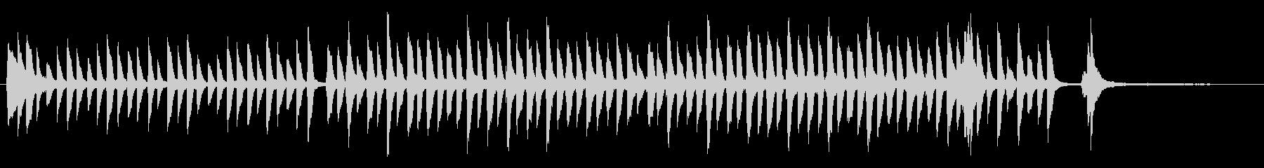 ピアノかわいいジングル 明るくほのぼのの未再生の波形