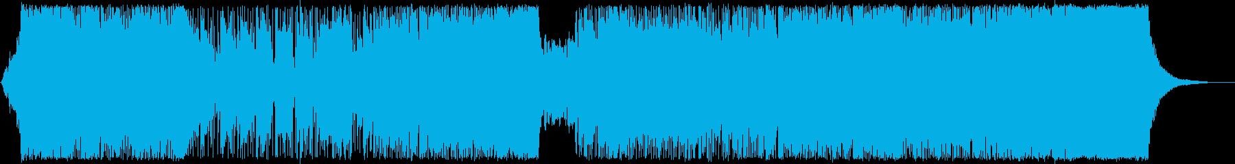 スピーディーでキャッチ―なシンセポップスの再生済みの波形