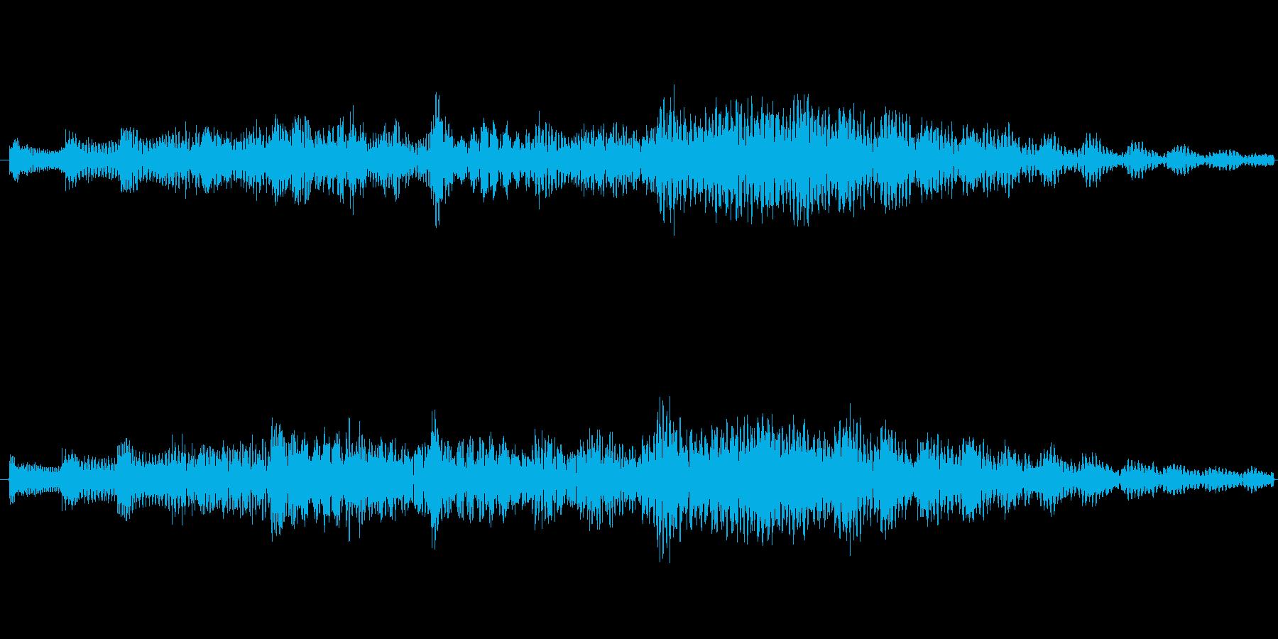 爽やかな音です。の再生済みの波形