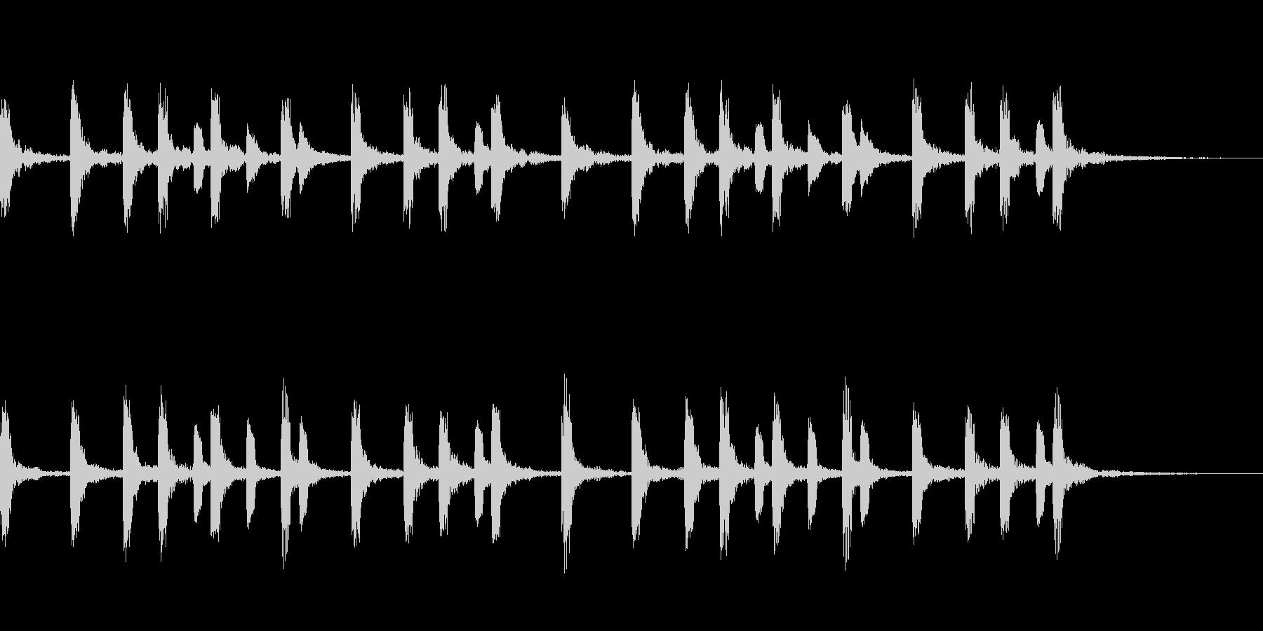 一件落着のジングル、CMにも使えます。の未再生の波形