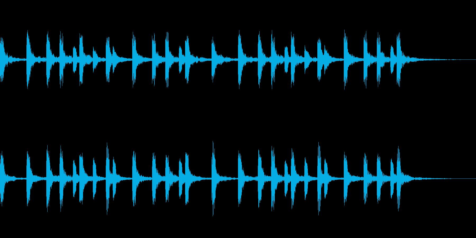 一件落着のジングル、CMにも使えます。の再生済みの波形