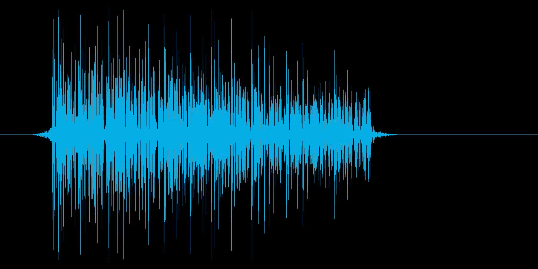 ゲーム(ファミコン風)爆発音_045の再生済みの波形