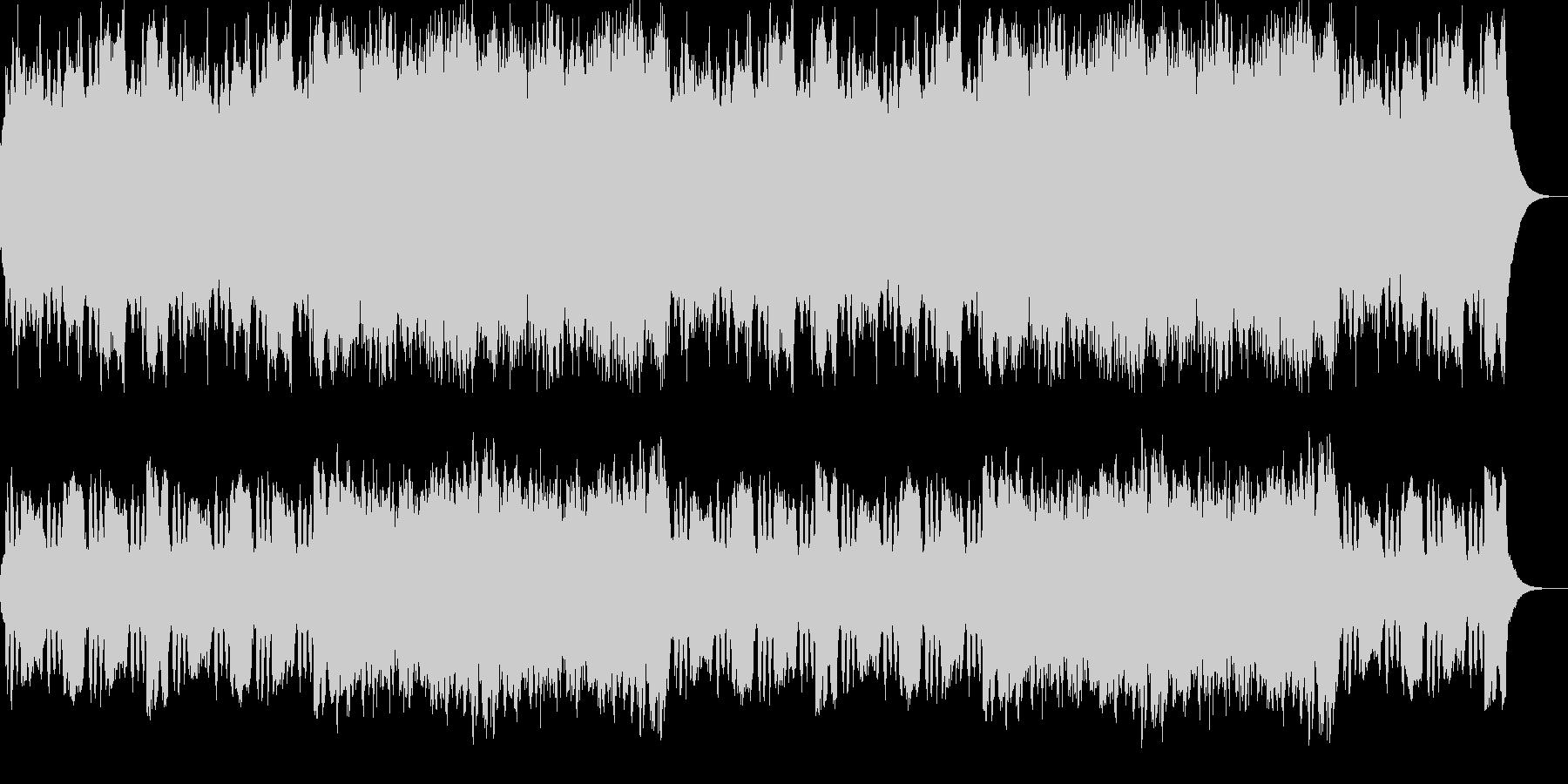 クラリネット、ハープほのぼのポップス。の未再生の波形