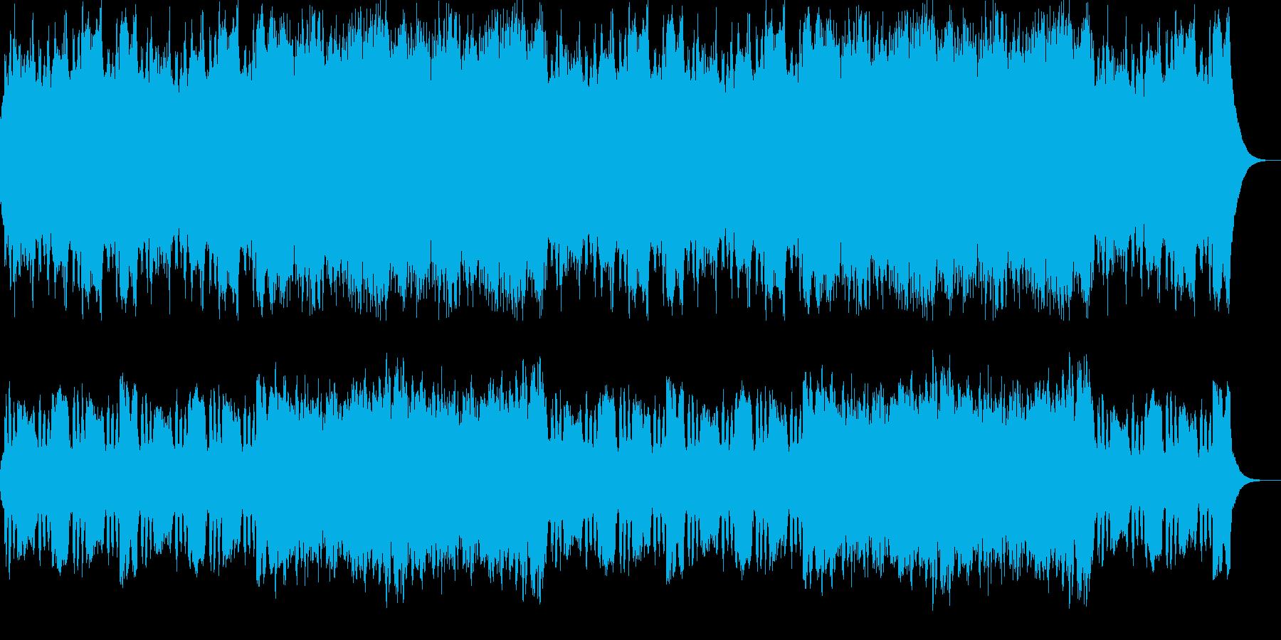 クラリネット、ハープほのぼのポップス。の再生済みの波形