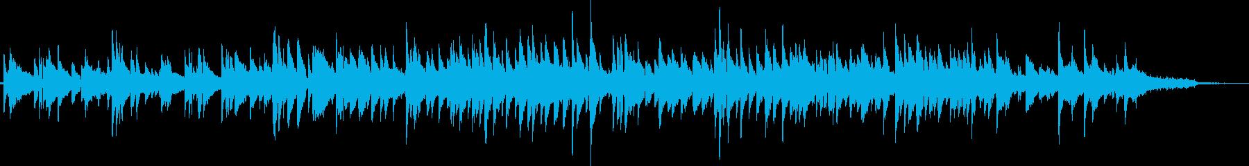 ギターデュオによるしっとりしたボサノバの再生済みの波形