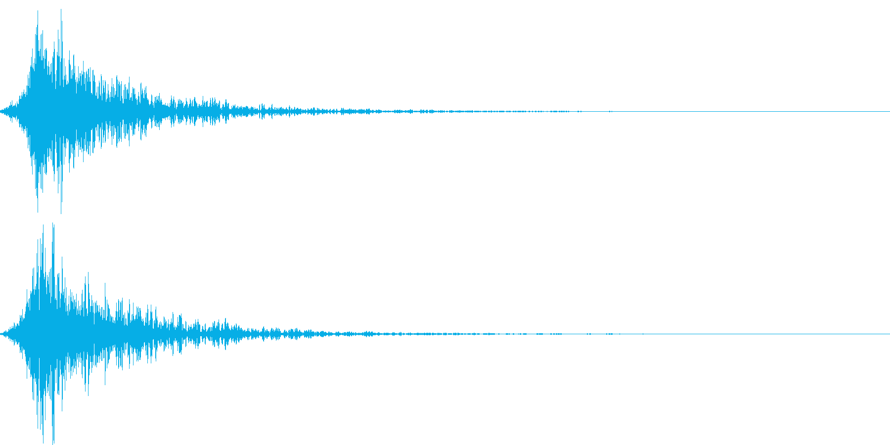 突然攻撃された音 RPG ゲーム すどんの再生済みの波形