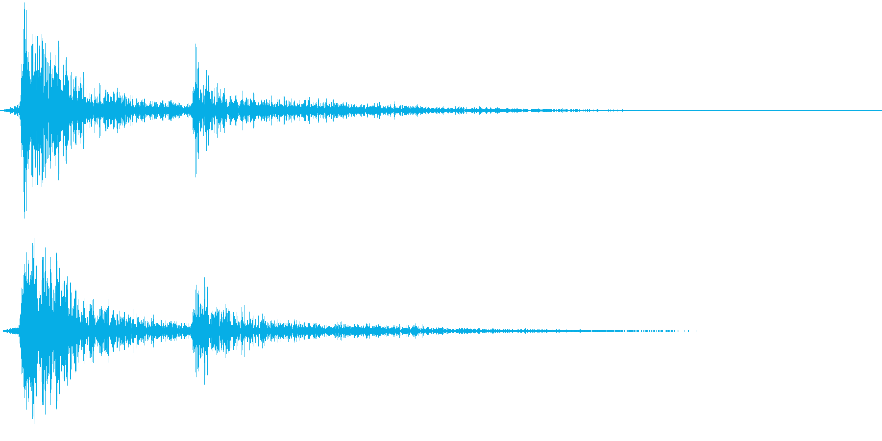 ディデーン(注意)の再生済みの波形