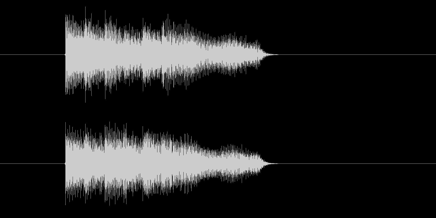 ゲーム、クイズ(不正解)_001の未再生の波形