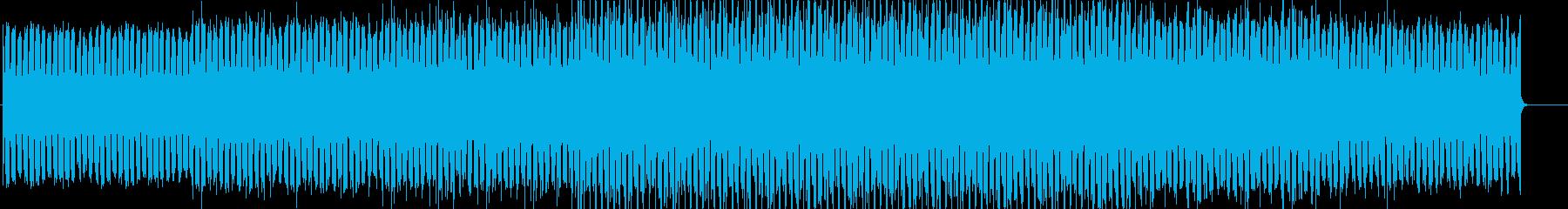 無機質で淡々としたエレクトロニカの再生済みの波形