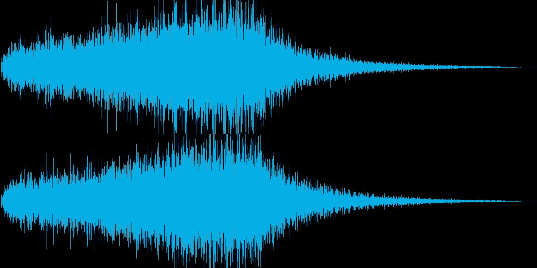 恐怖/ホラーの演出に最適なストリングス1の再生済みの波形