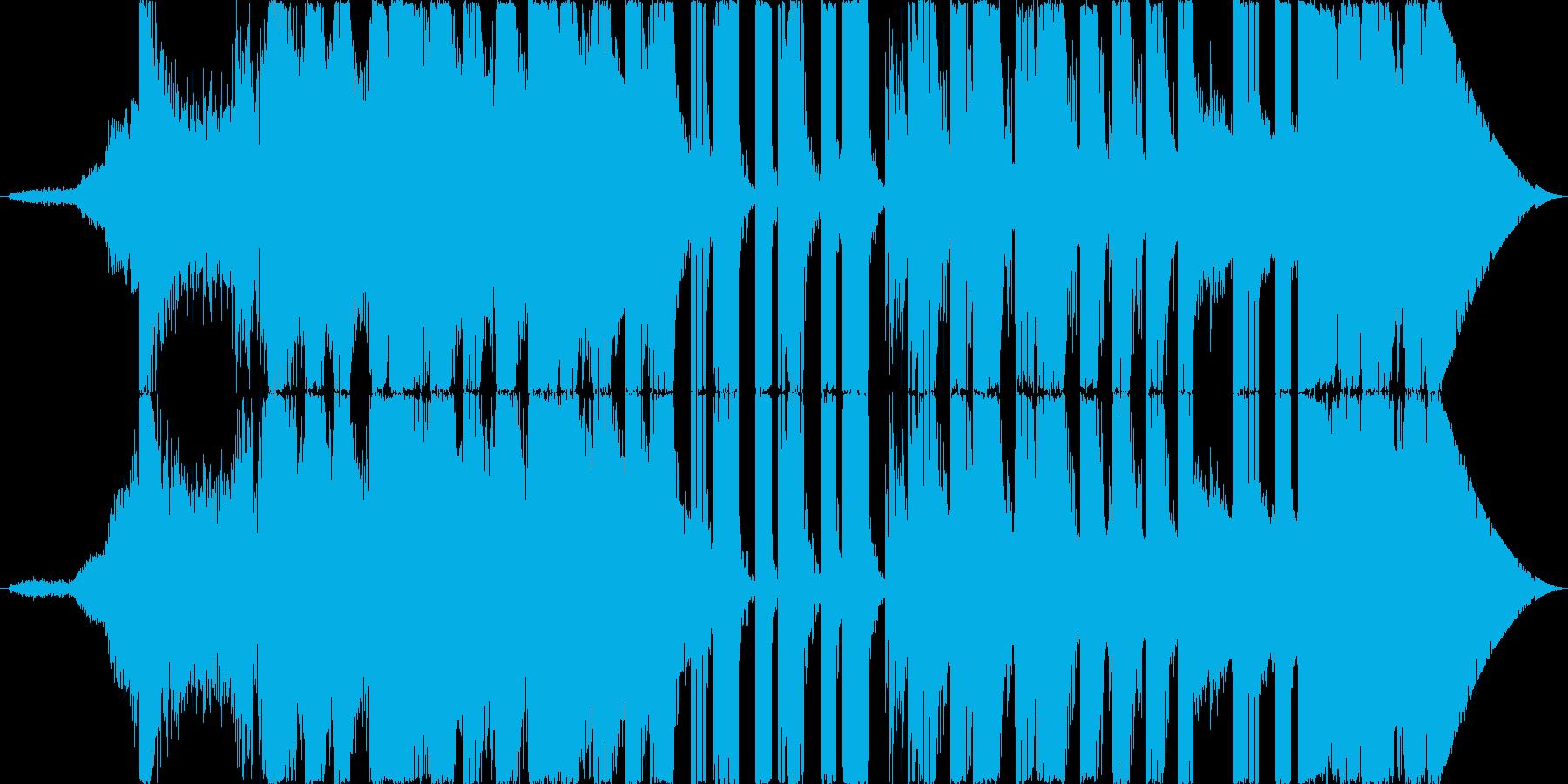 機械的であやしい雰囲気を出してみました…の再生済みの波形