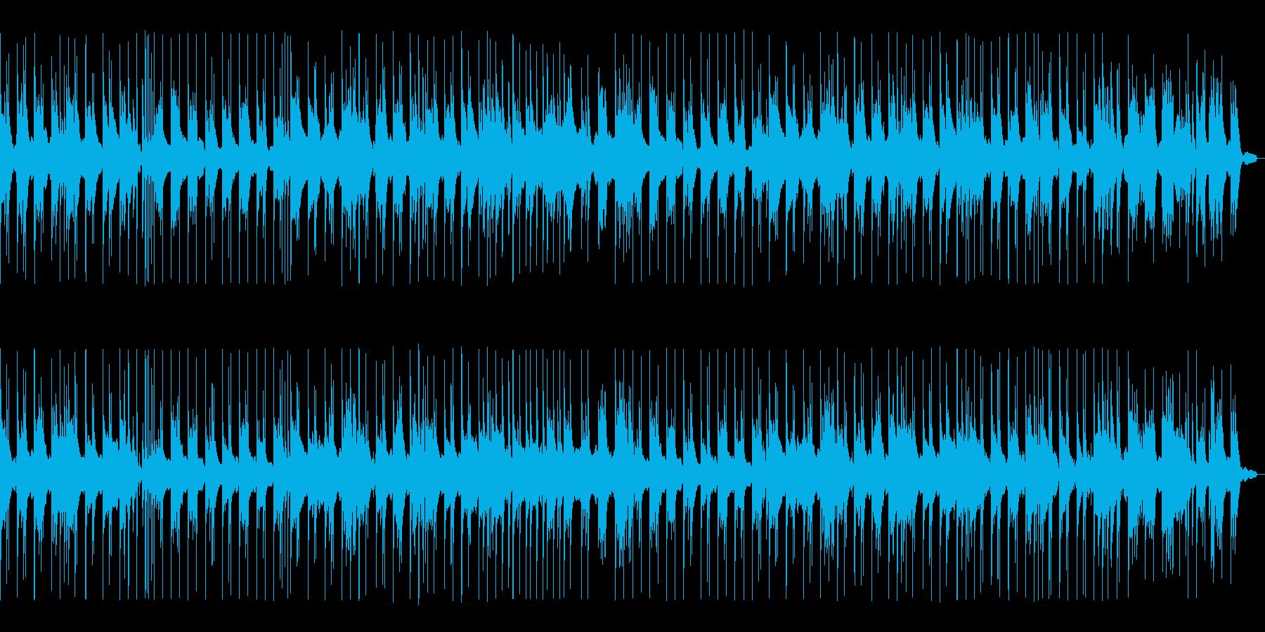 BGM016-02 ピアノソロの落ち着…の再生済みの波形