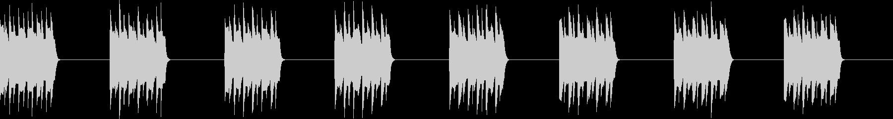 プルプル..。電話の着信音D(低・長)の未再生の波形