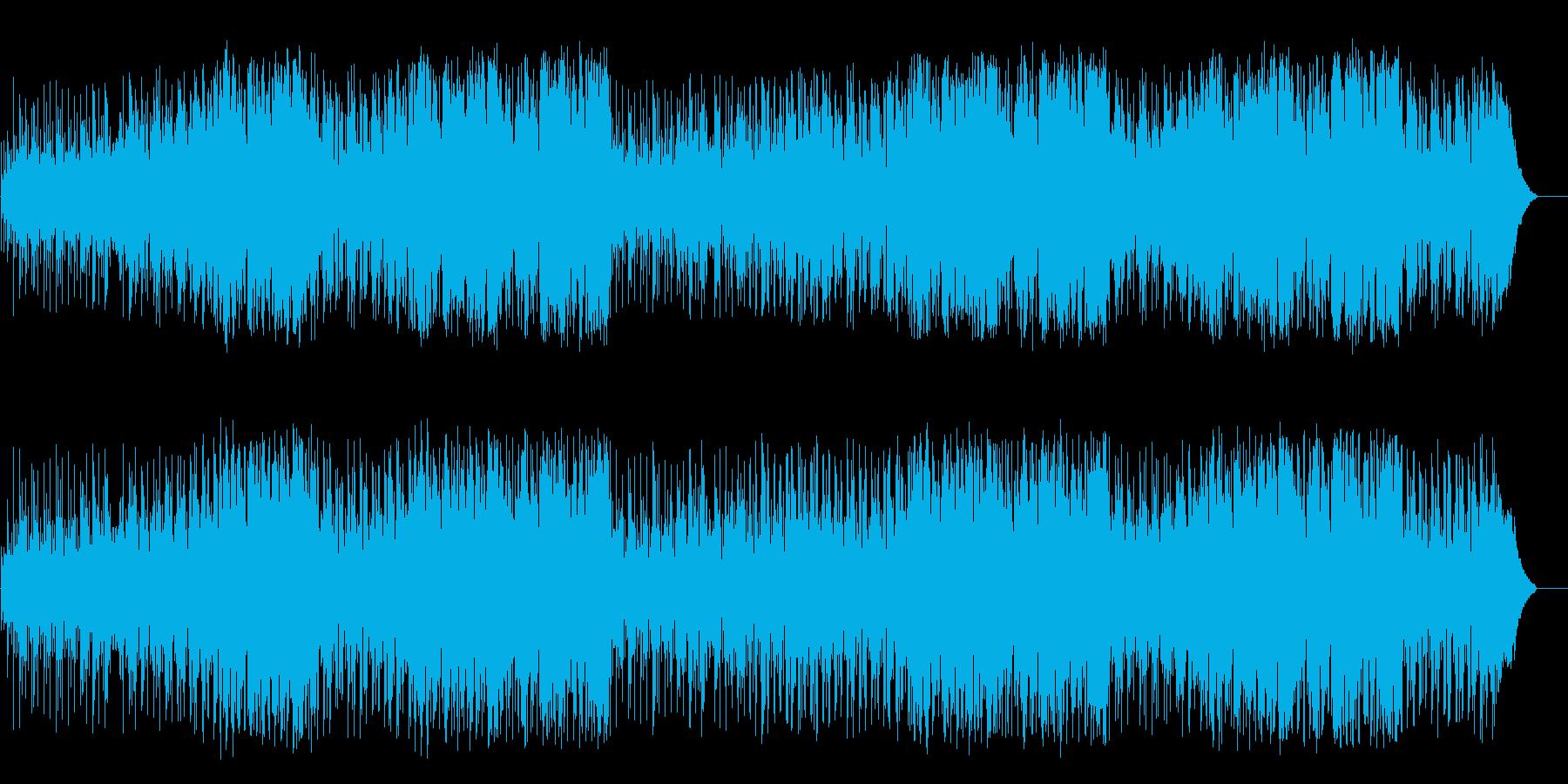 むじゃきで可愛らしくほのぼのとしたポップの再生済みの波形