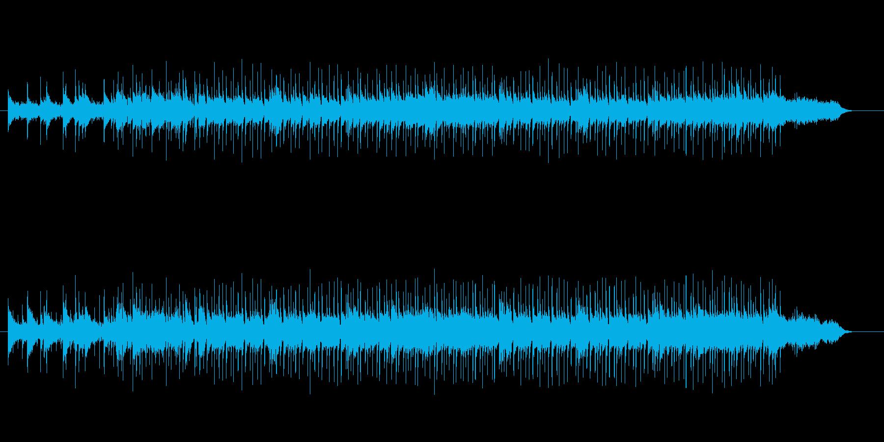 軽いタッチのオープニング向きの再生済みの波形
