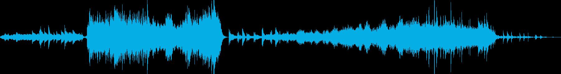 前半インパクトがあり後半切ない和装入場曲の再生済みの波形