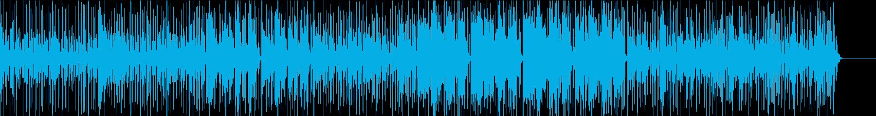 日常の喧騒を忘れさせるような涼しげな曲の再生済みの波形