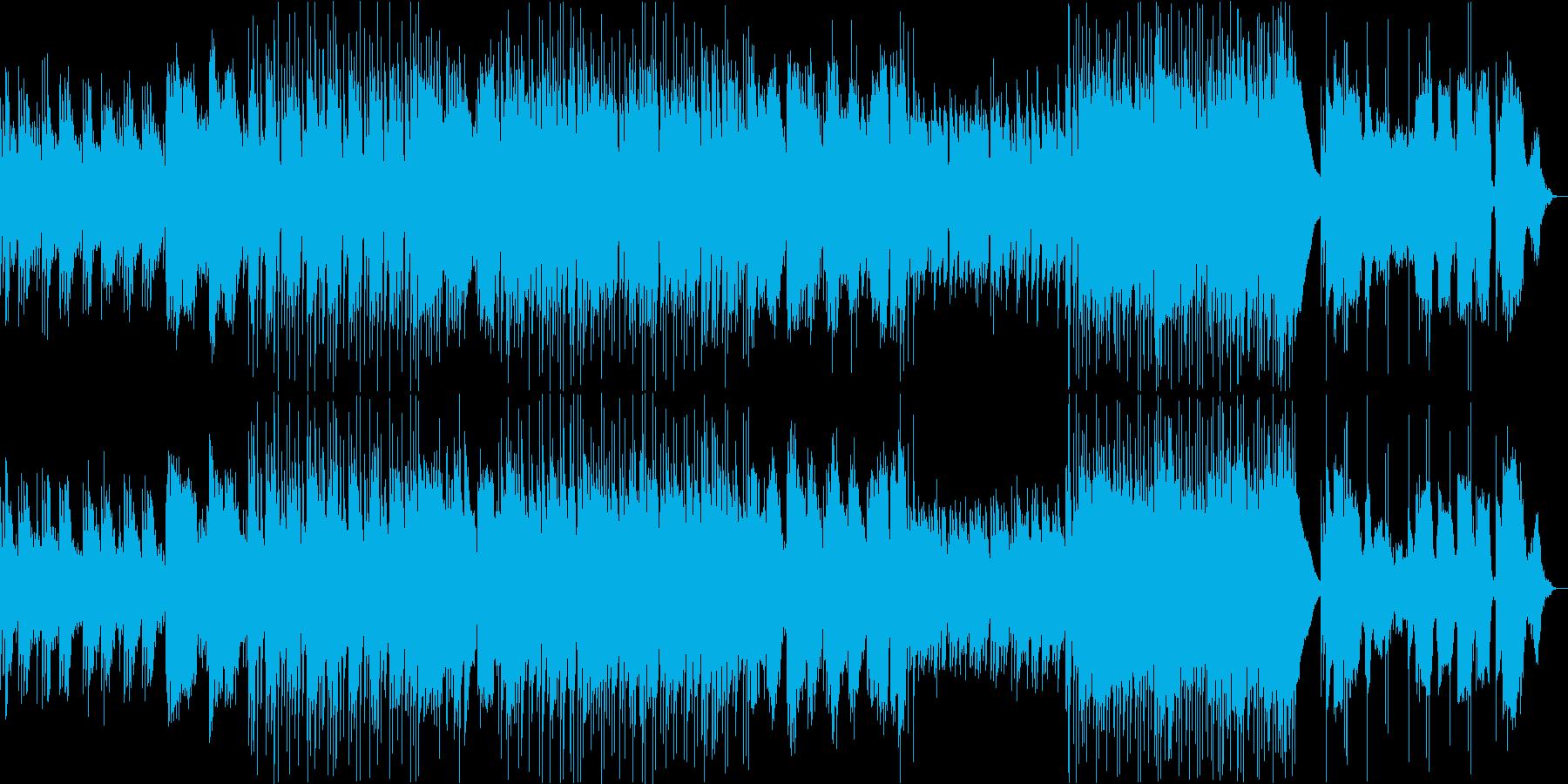 筝の生演奏を取り入れた穏やかな和風曲の再生済みの波形