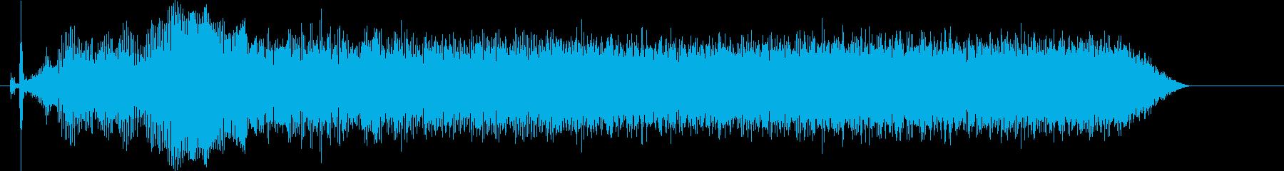 ハンドミキサーを使用した時の音です。の再生済みの波形