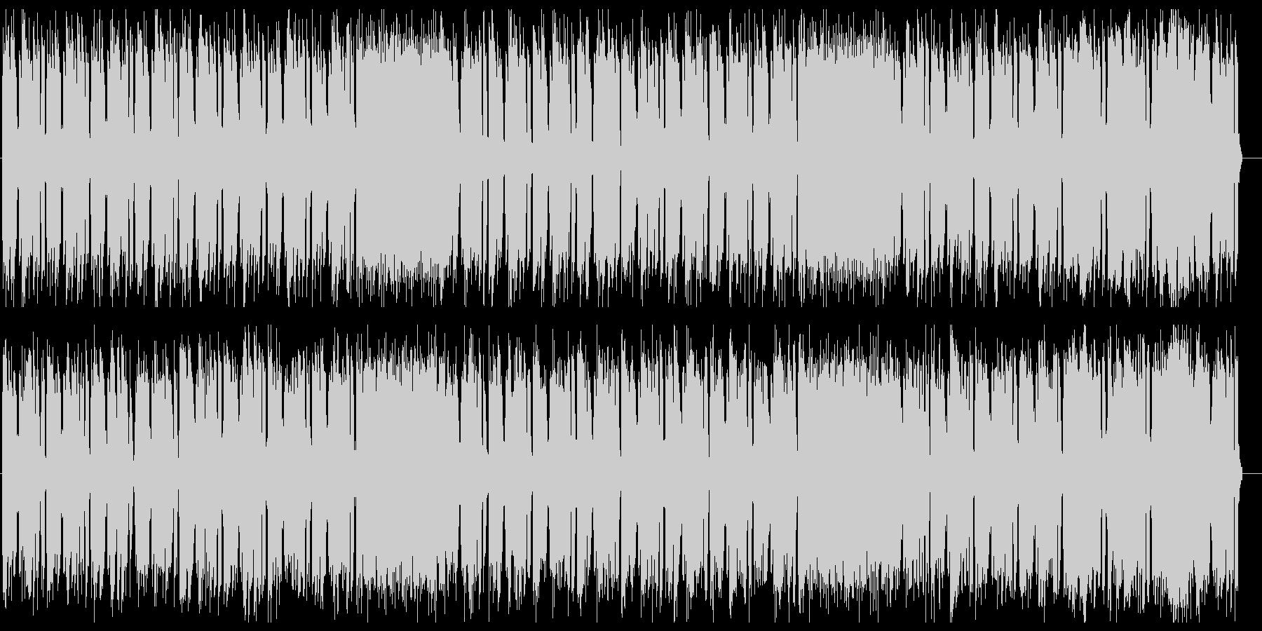 ダークでクールなテクノビートサウンドの未再生の波形