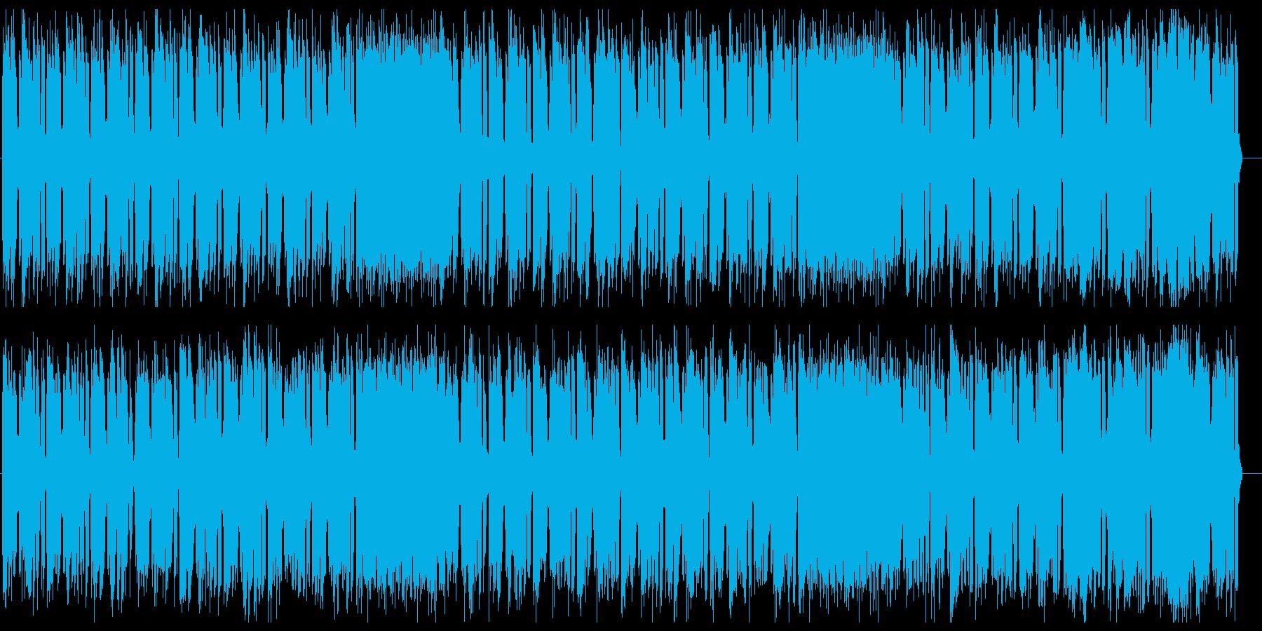 ダークでクールなテクノビートサウンドの再生済みの波形