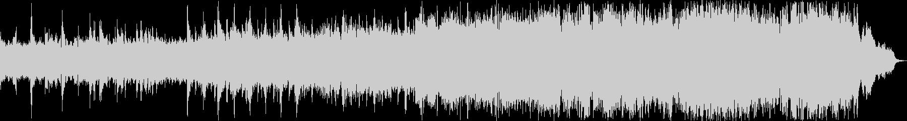 感動映像・ゲームのBGMの未再生の波形
