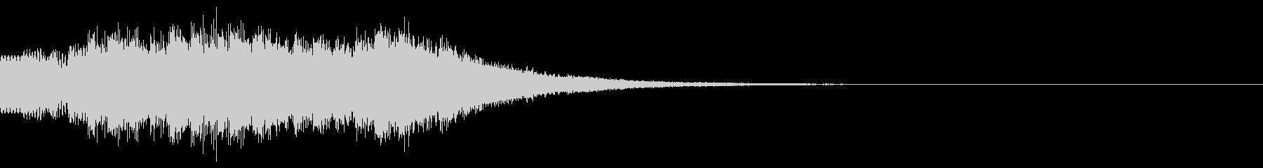 キラキラ/駆け上がり/場面転換の未再生の波形