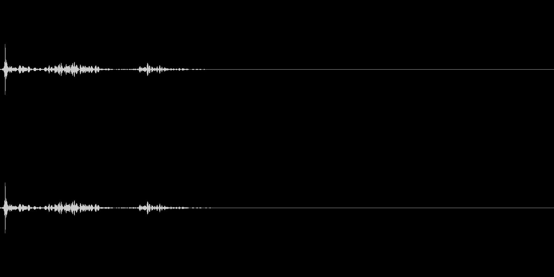 チェックボックスオン(ペン)_02の未再生の波形