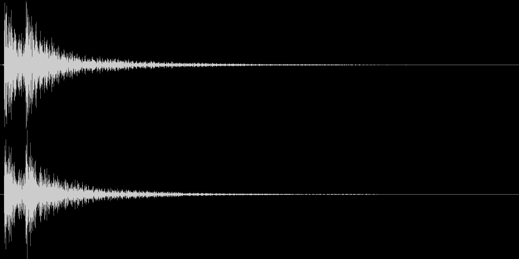 ドドン!(登場、映像、ゲーム)の未再生の波形