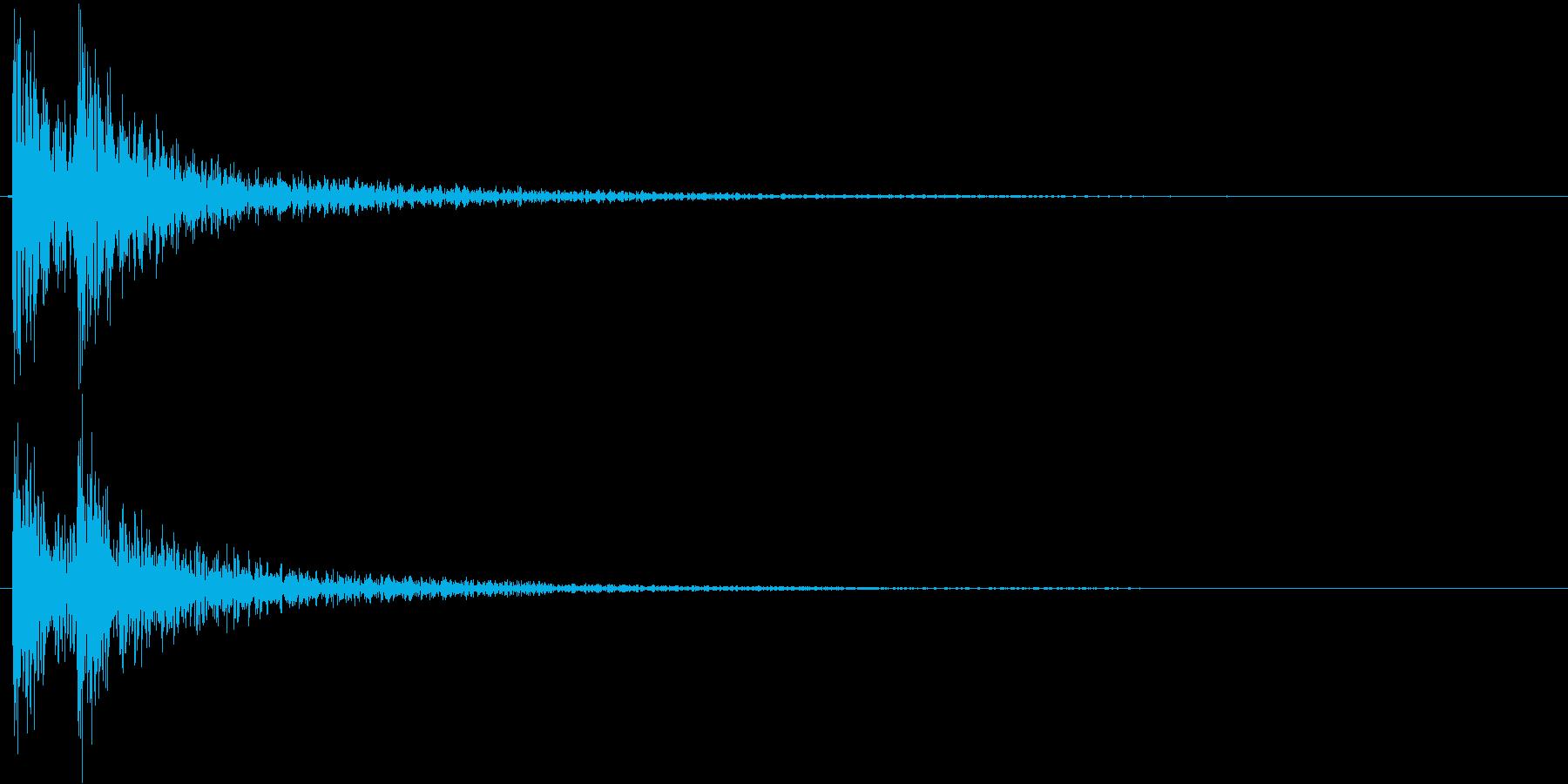ドドン!(登場、映像、ゲーム)の再生済みの波形