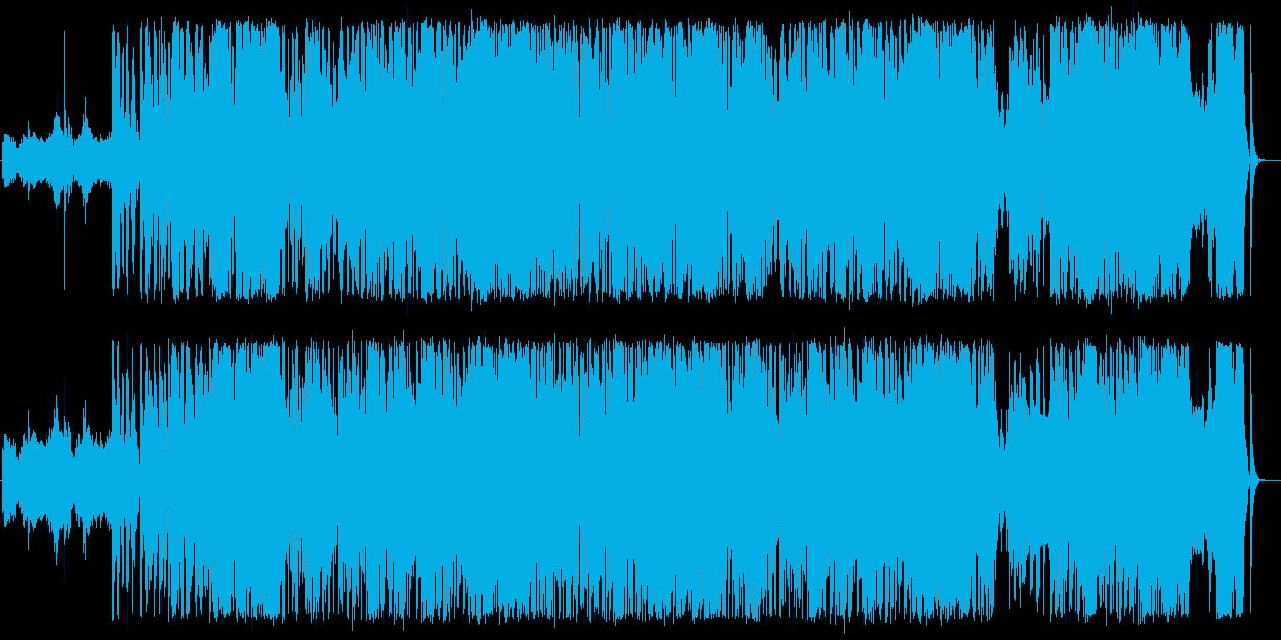 爽やかな楽曲で、子犬が夢の中で走りなが…の再生済みの波形