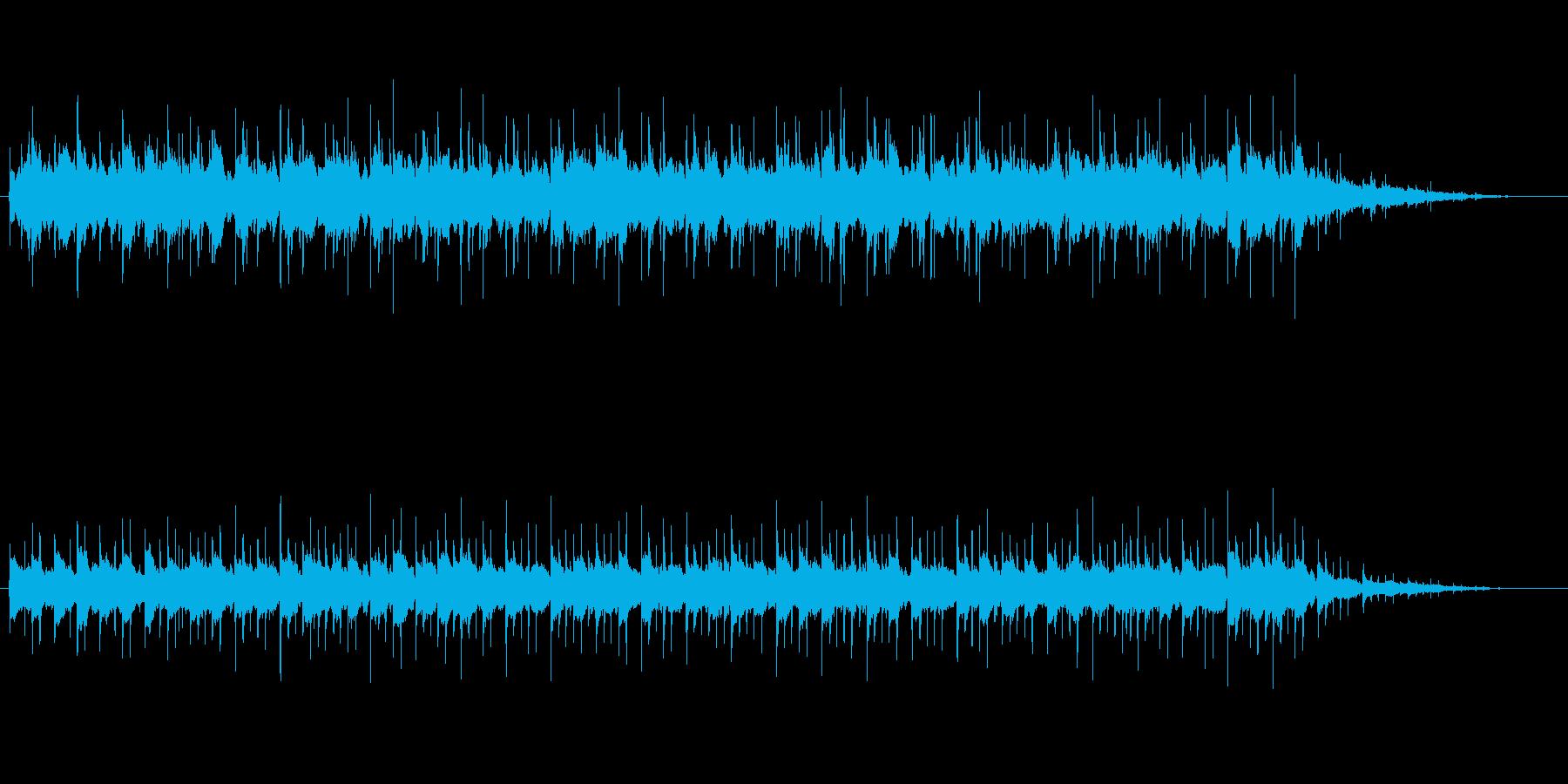 美術鑑賞風ほのぼのサウンドの再生済みの波形