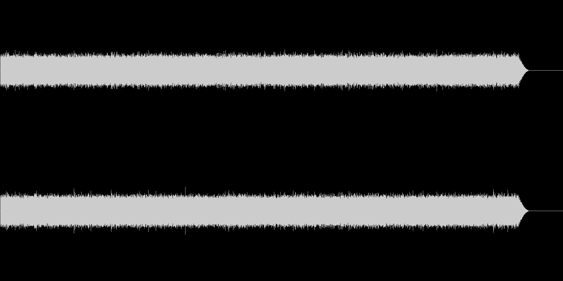 シンセと録音素材で制作した雨の音の未再生の波形