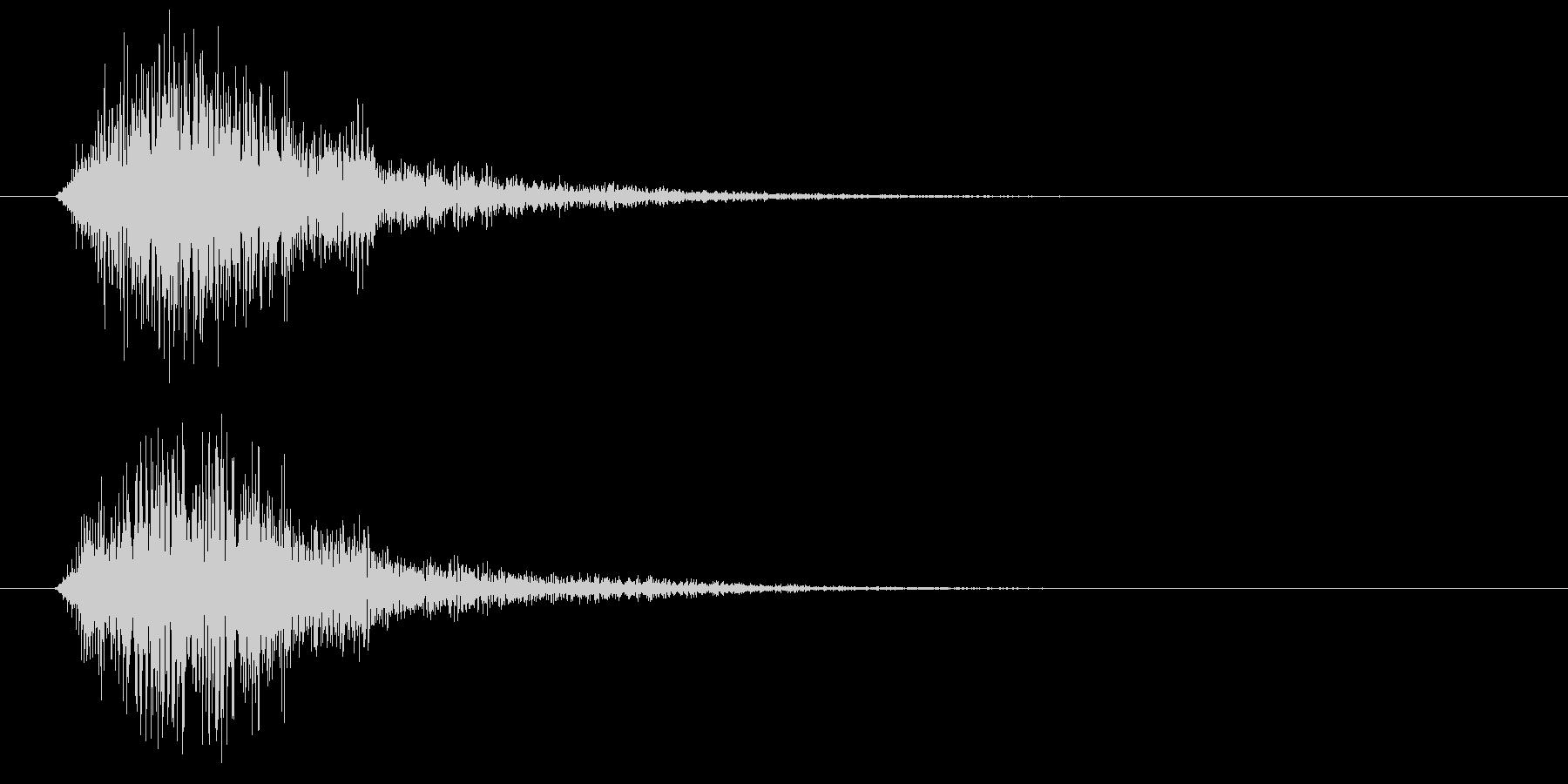 テロン(アプリ、ゲーム)の未再生の波形