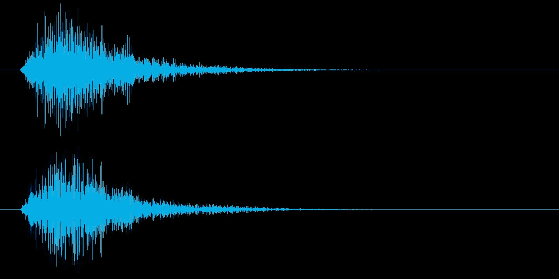 テロン(アプリ、ゲーム)の再生済みの波形