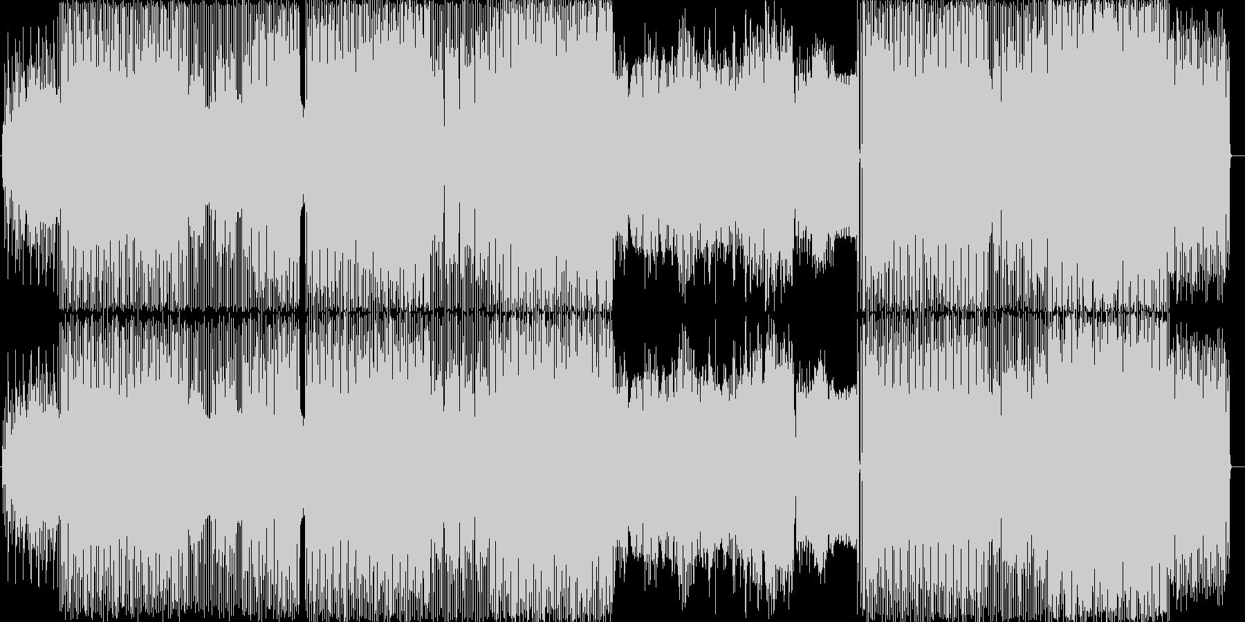 着音テクノです。今回の制作には携帯電話…の未再生の波形