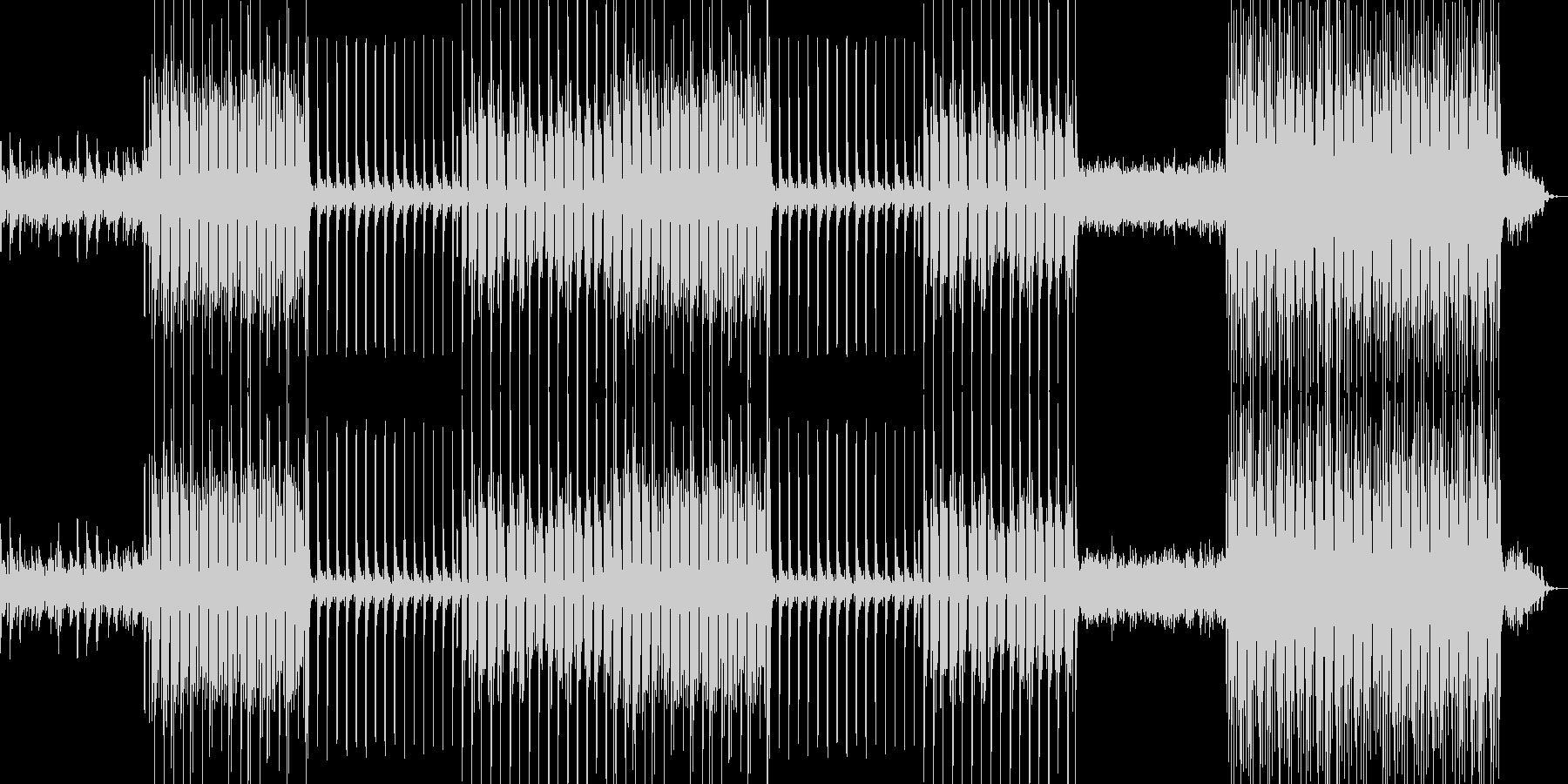 ピアノとアコースティックギターをメイン…の未再生の波形
