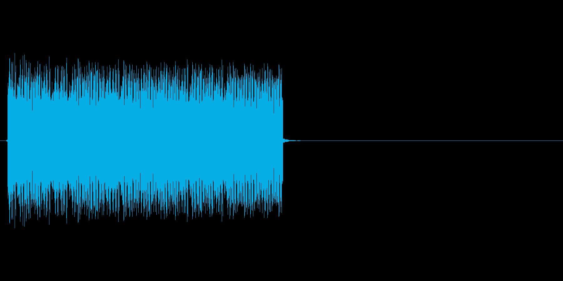 ビリビリビリッ(電気、感電)の再生済みの波形