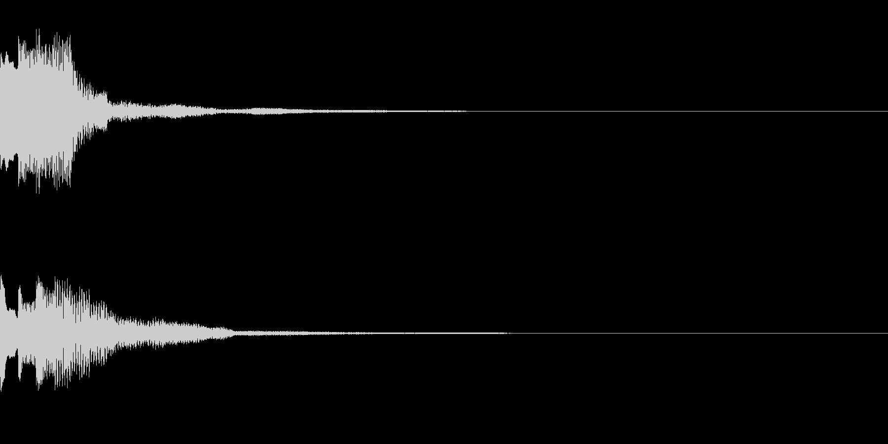 決定音42_シンセAEの未再生の波形
