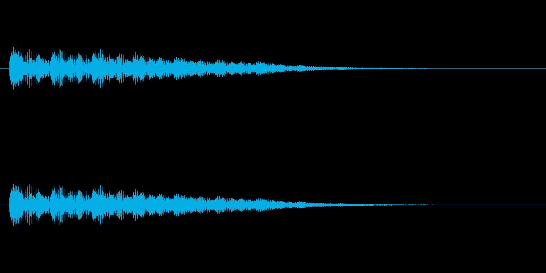 【ネガティブ09-2】の再生済みの波形