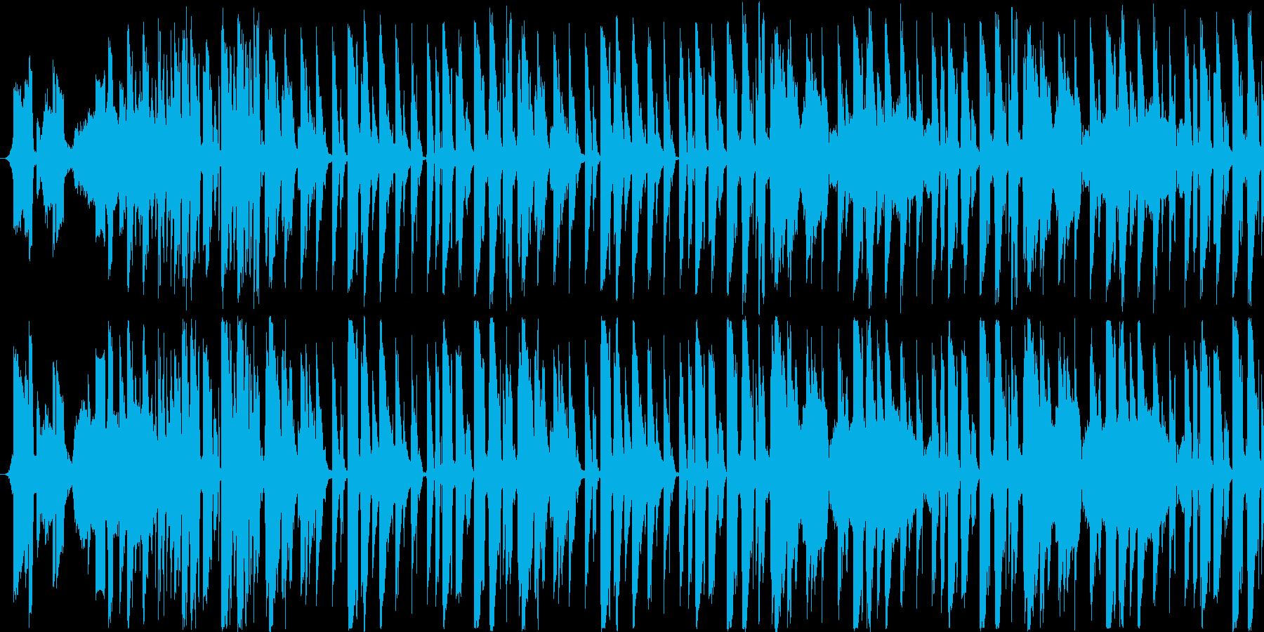 【オシャレラウンジJAZZ/ハウス】の再生済みの波形