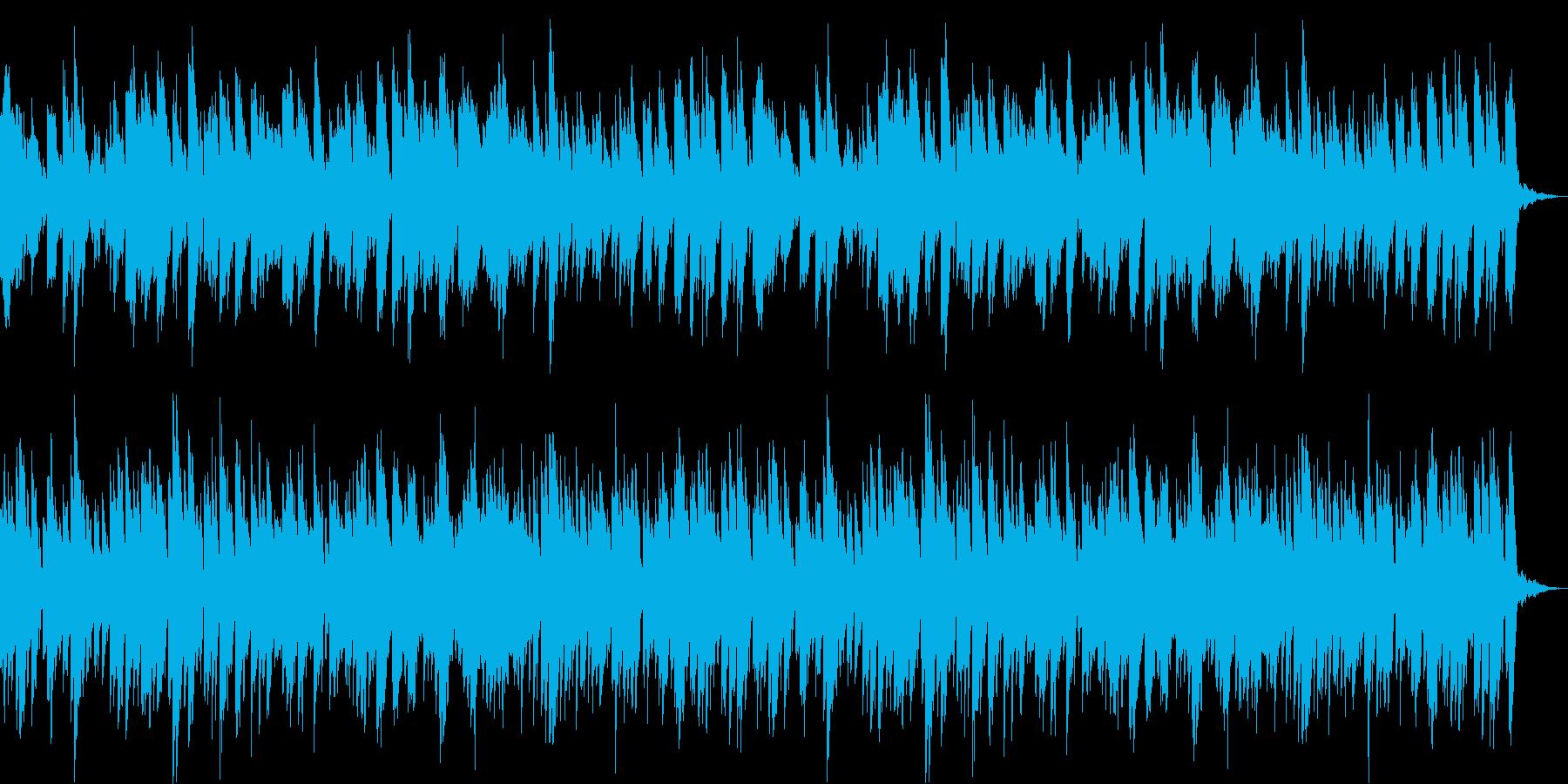 【ピアノ】ウキウキなするようなピアノの再生済みの波形