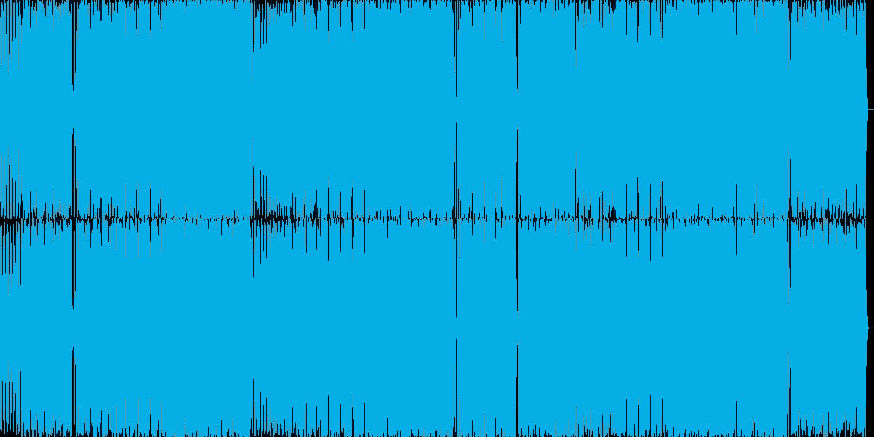 キュートなミディアムダンスポップナンバーの再生済みの波形