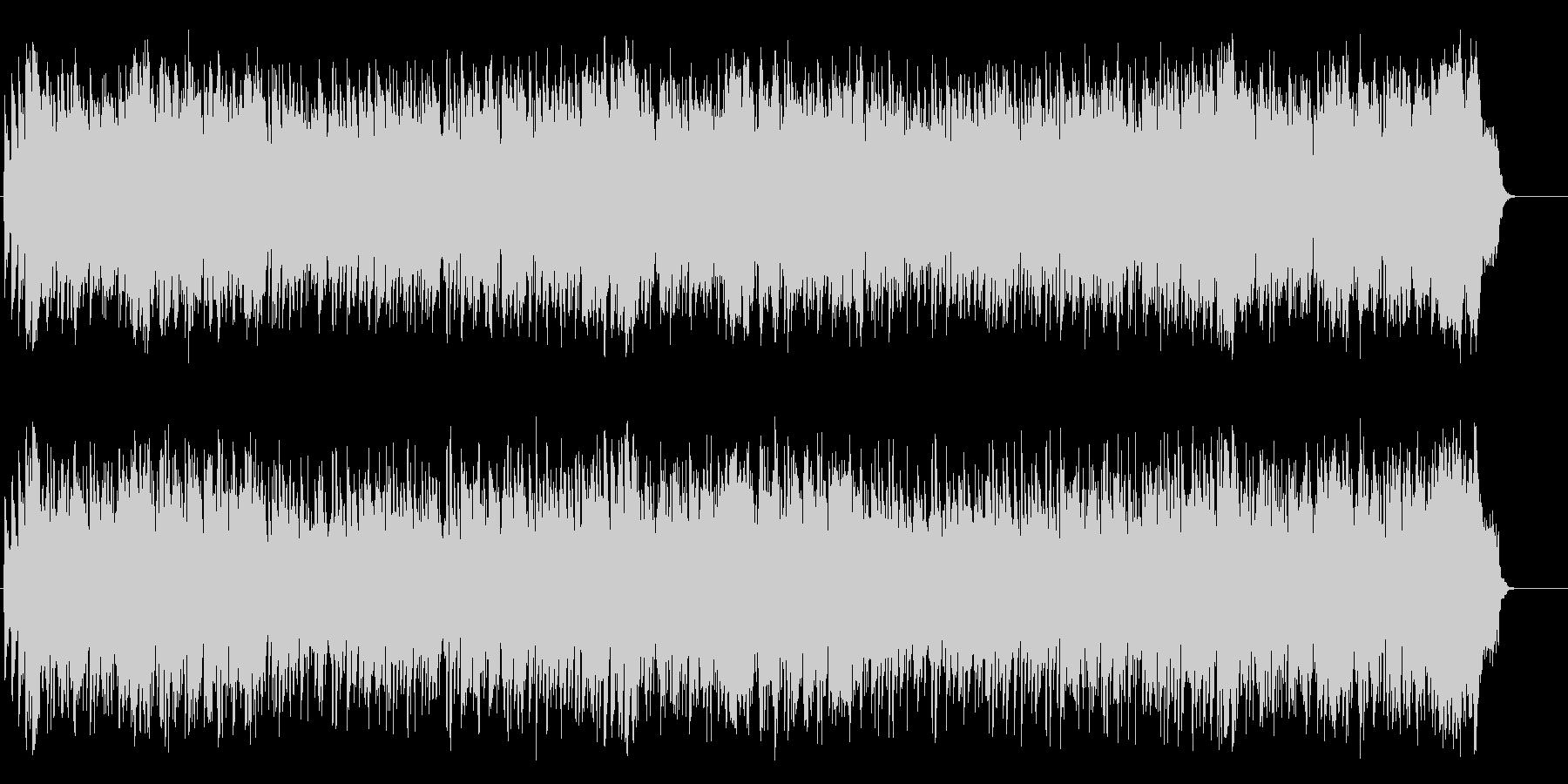 穏やかなミディアム・バラード/ポップの未再生の波形